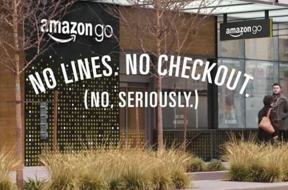 """亚马逊注册商标""""AmazonGo"""" 欲将开拓欧洲市场"""