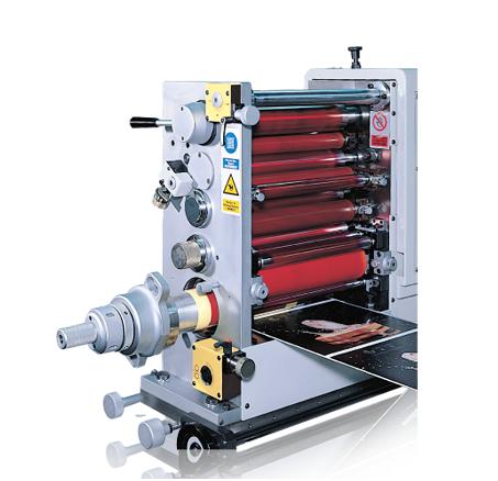 商标印刷机的应用