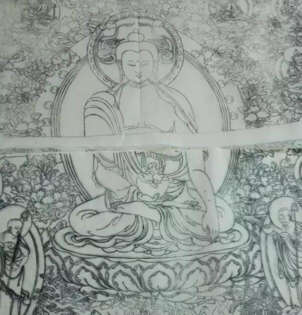 具有版权符号的陶瓷唐卡诞生记