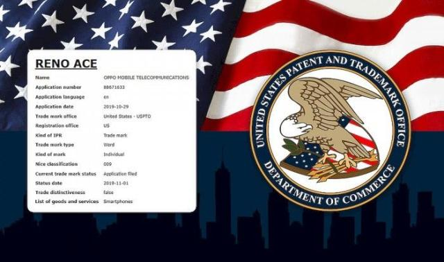 OPPO通過Reno Ace商標申請,意在打開美國市場?