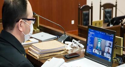 """北京知識產權法院線上公開開庭審理了""""窩子""""商標無效宣告行政糾紛一案"""