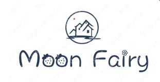"""飾品英文名""""Moon Fairy""""logo設計作品合集"""