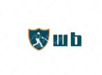 网站logo设计:wb