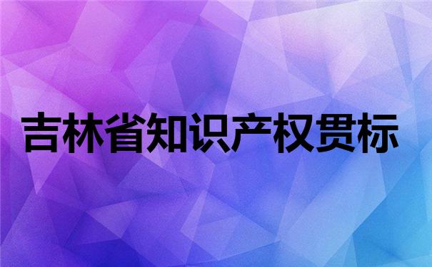 吉林省知识产权贯标